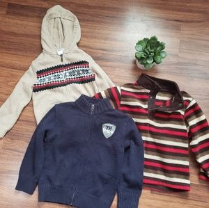 Gymboree Boys Sweater Bundle 3T XS (3/4)